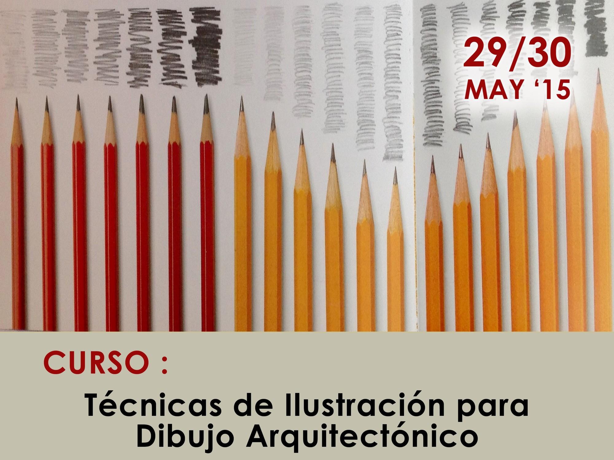 Curso: Técnicas de Ilustración para Dibujo Arquitectónico / Ciudad de México