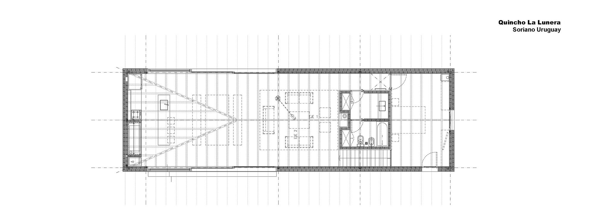 Good Pool House La Lunera,Ground Floor Plan