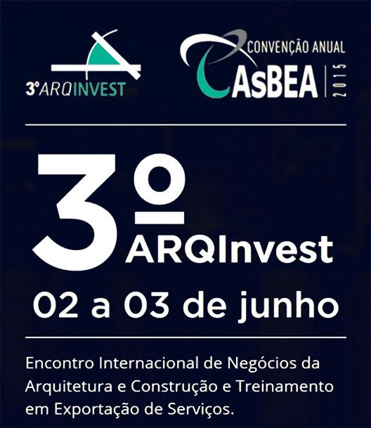 Inscrições abertas para o 3º ArqInvest
