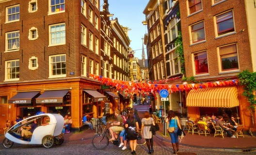 Amsterdã, Países Baixos. Imagem © Moyan_Brenn, via Flickr