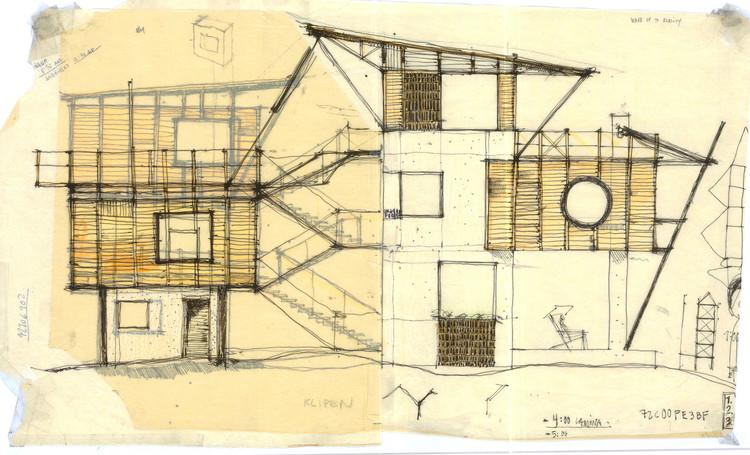 Opinión de nuestros lectores: el rol del dibujo a mano en la arquitectura contemporánea, Casa de Playa en Guatemala / Christian Ochaita + Roberto Gálvez