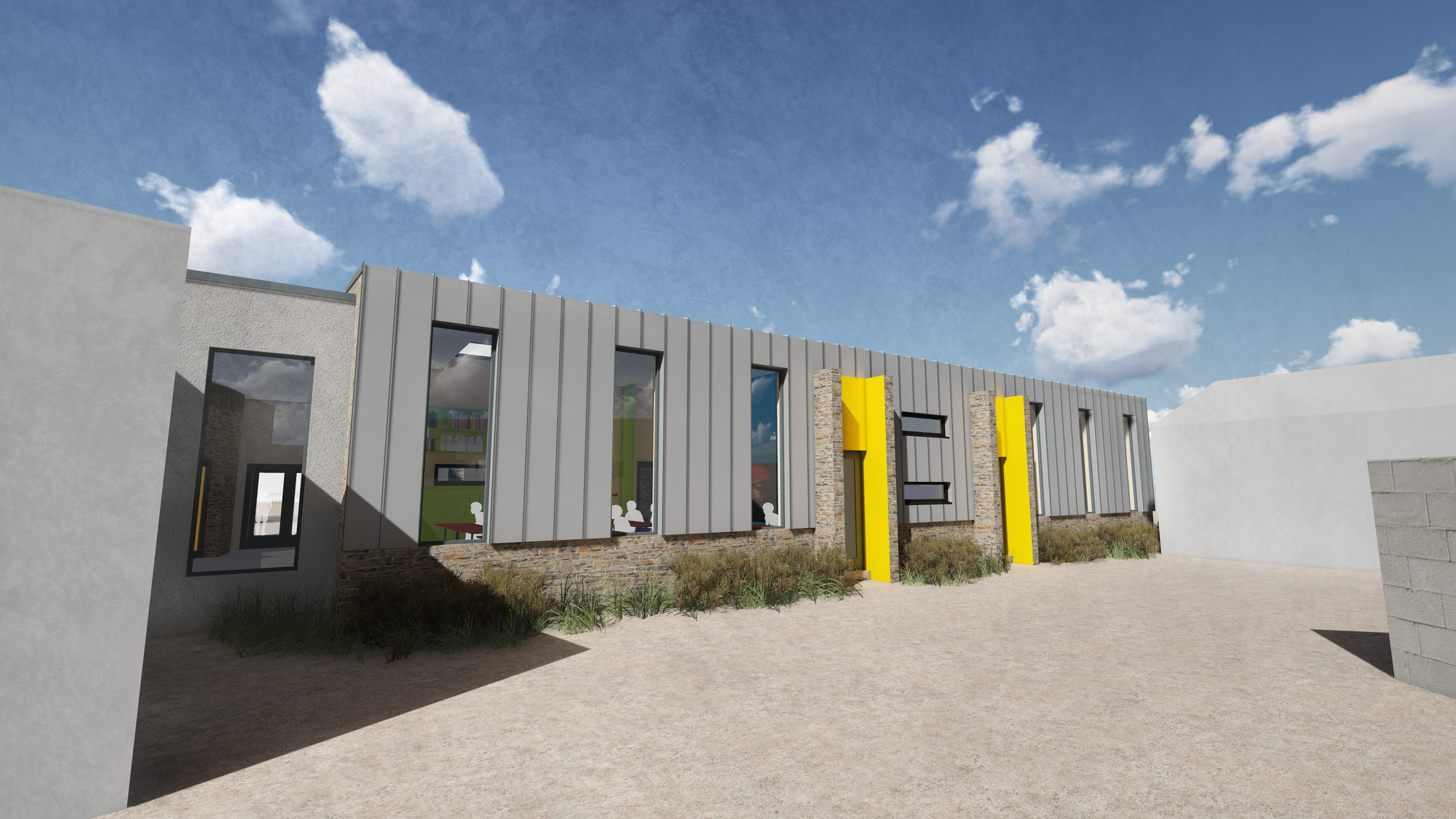 Gallery of PLACE By Design Wins Cool School Design Competition - 4