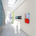 Internal corridor. Image Courtesy of Building Trust International