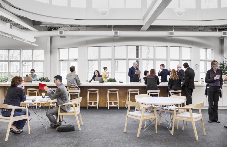 Princípios para projetar espaços de trabalho colaborativos, Cortesía de Herman Miller