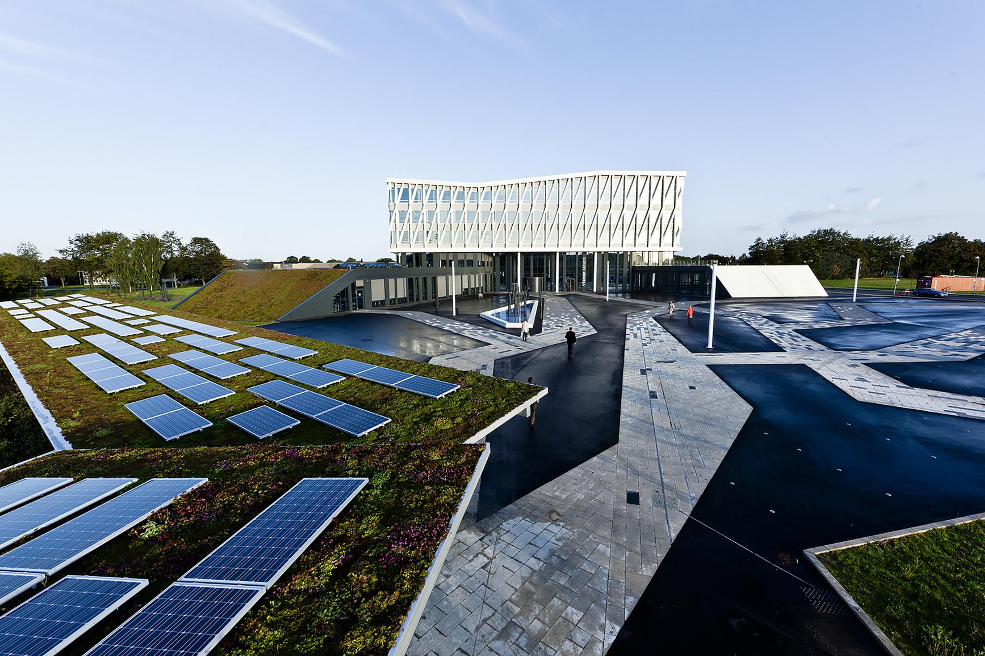 Viborg Town Hall Henning Larsen Architects Archdaily