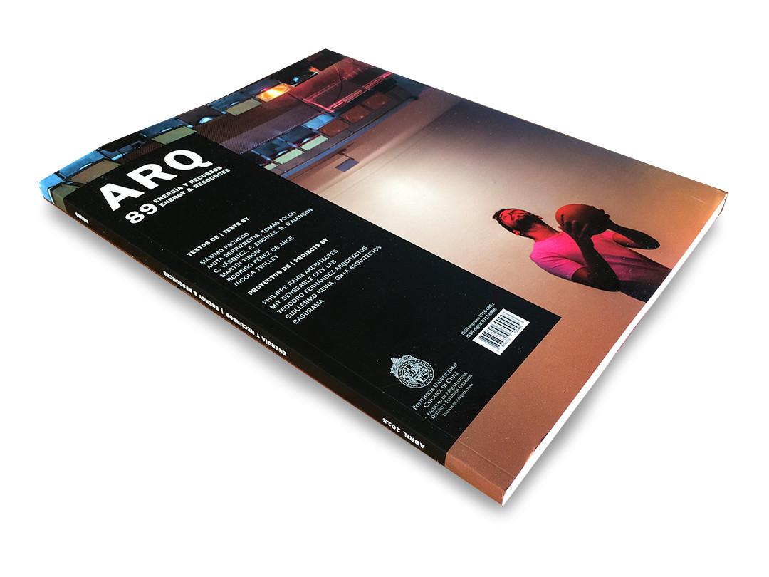 ARQ 89: Energía y Recursos
