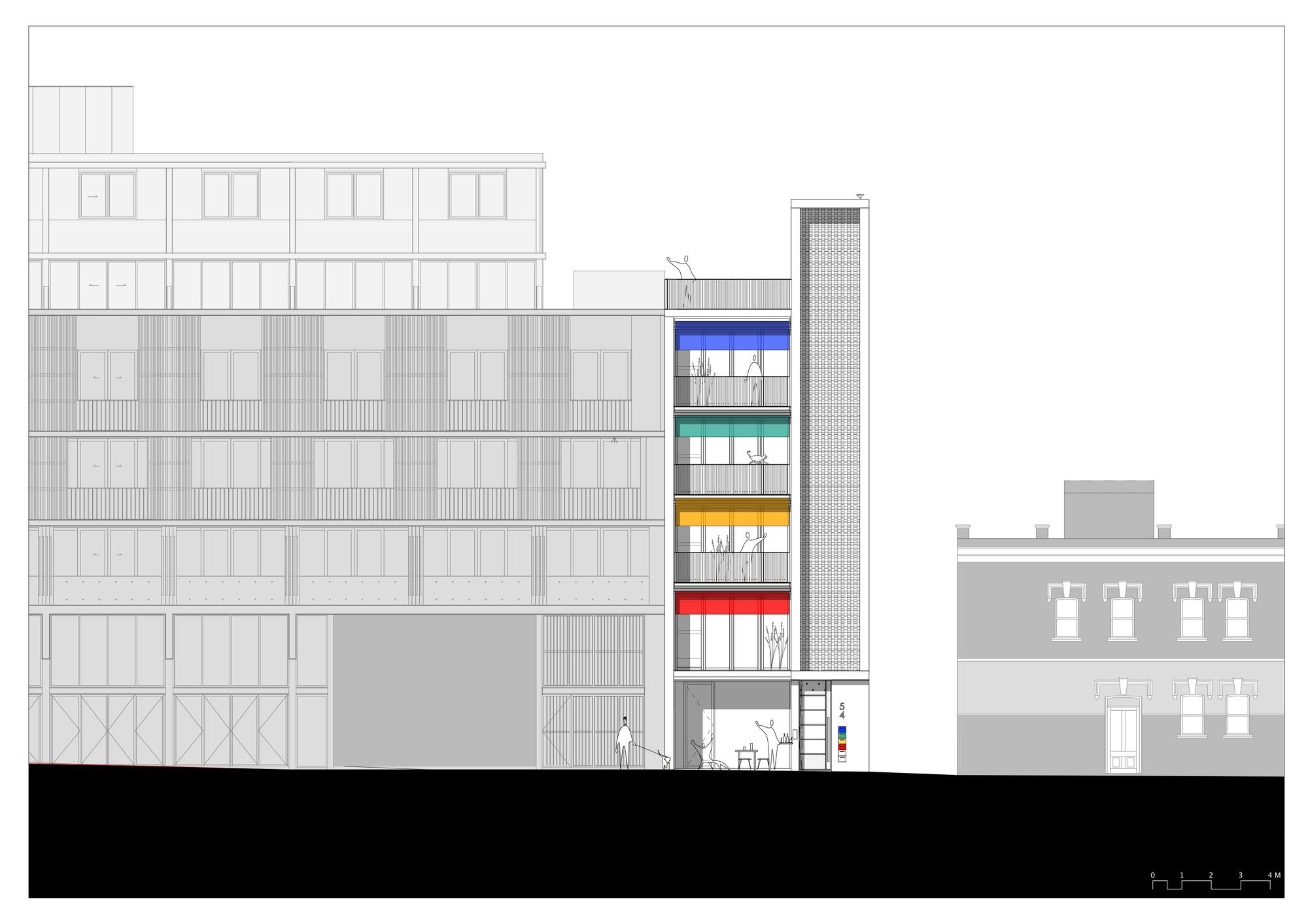 Galeria de studios 54 hill thalis architecture urban for Architecture 54