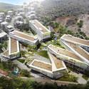 PWD Architecture, primer lugar en concurso de diseño del Centro Creativo Dali / China Cortesía de PWD