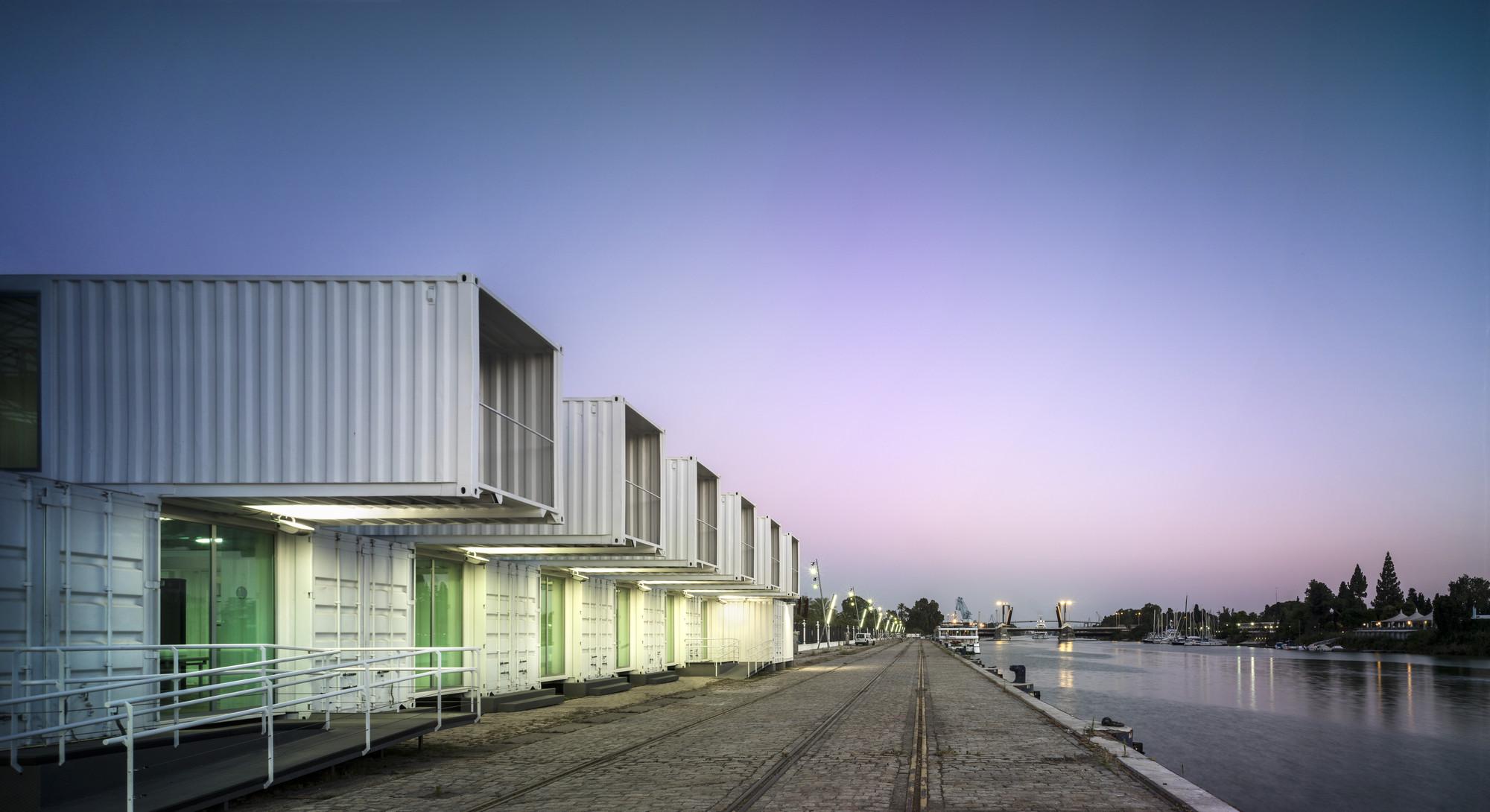 Proyecto de Iluminación: Terminal de Cruceros del Puerto de Sevilla / LAMP, © Jesús Granada