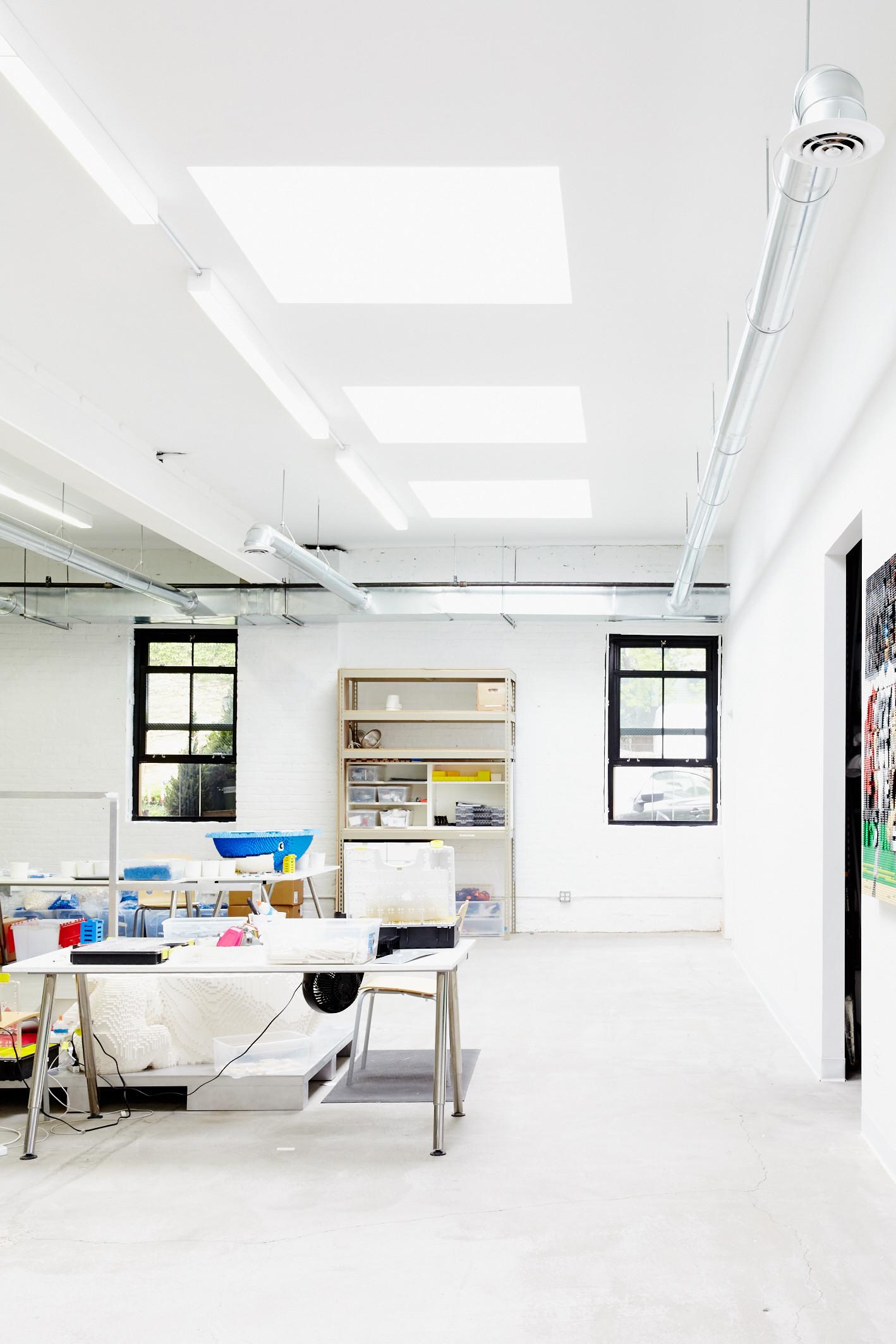 Gallery of Inside studioMET's Studio for LEGO Artist Sean