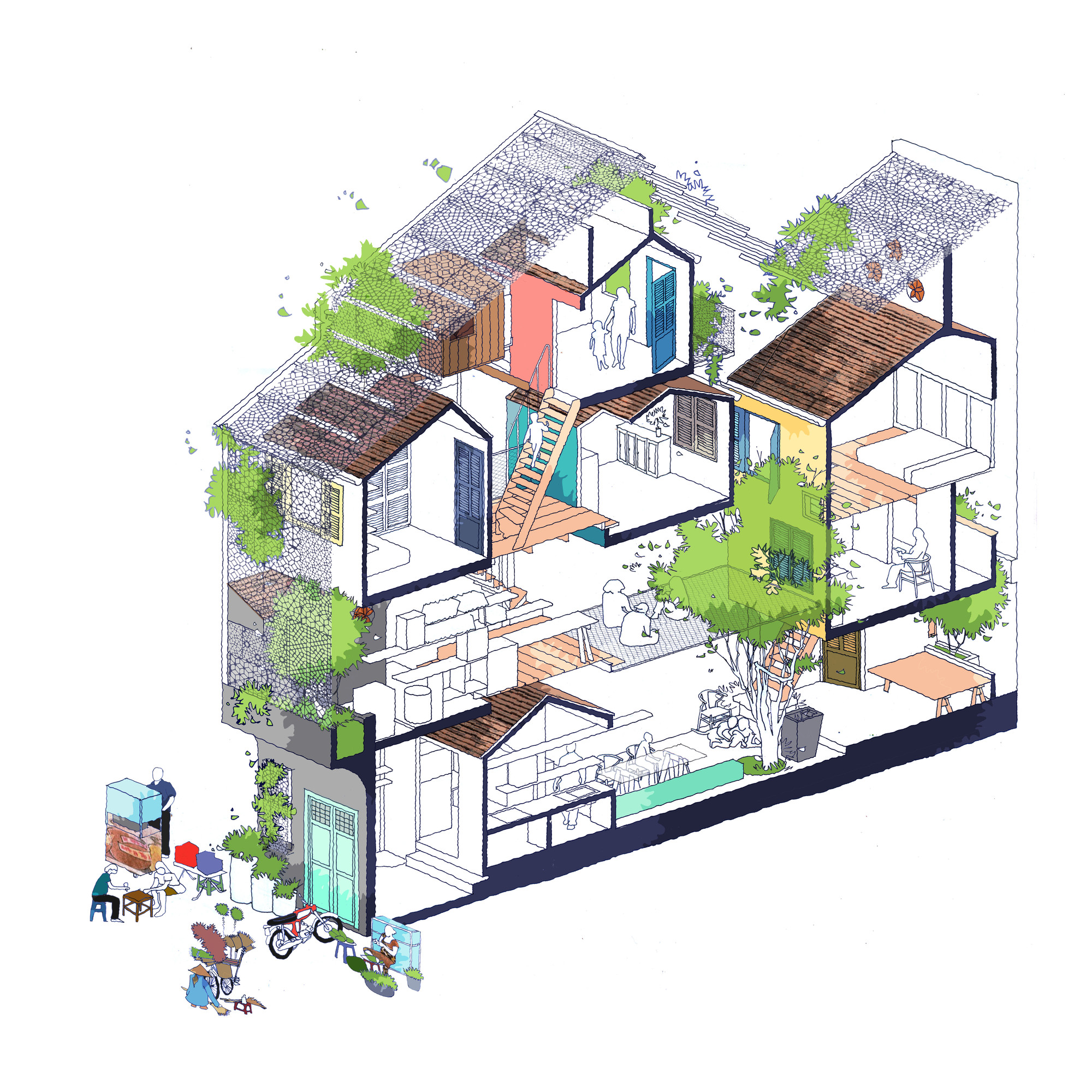 Saigon House A21studio Archdaily