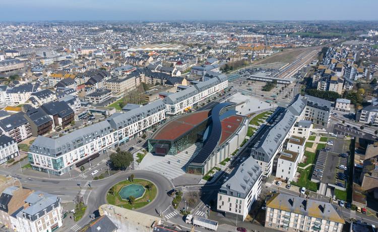 A Grande Passarela / AS.Architecture-Studio, © Hervé Coudrais