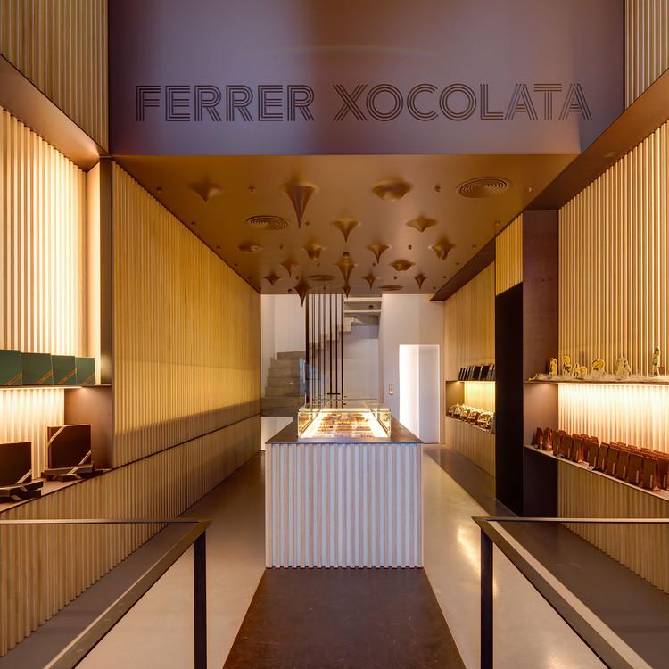 Ferrer Xocolata / arnau estudi d'arquitectura, © Marc Torra Ferrer