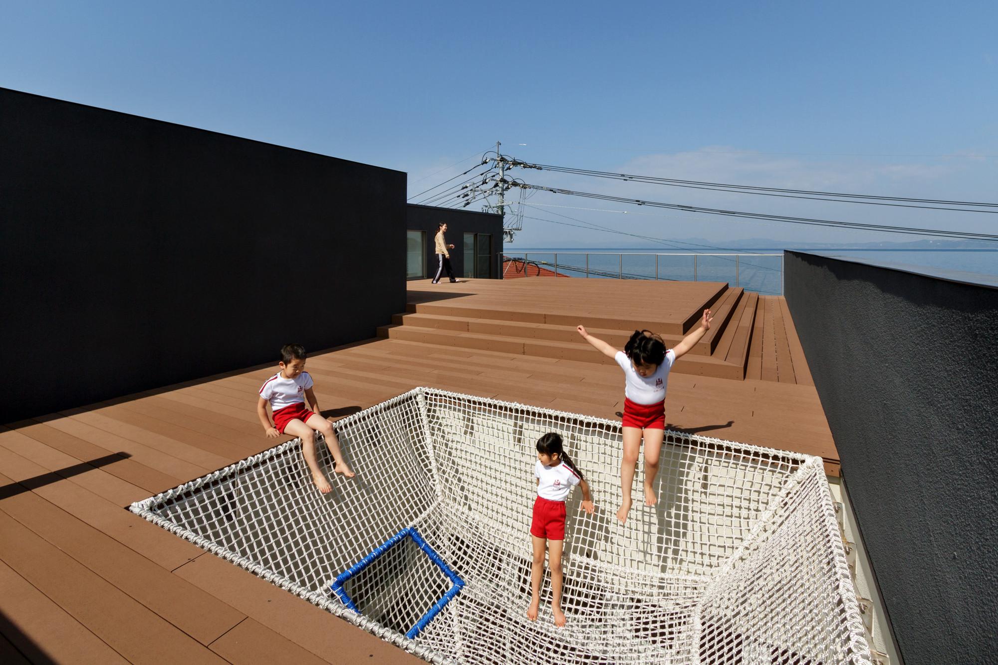 OB Jardín Infantil y Guardería / HIBINOSEKKEI + Youji no Shiro, © Studio Bauhaus, Ryuji Inoue
