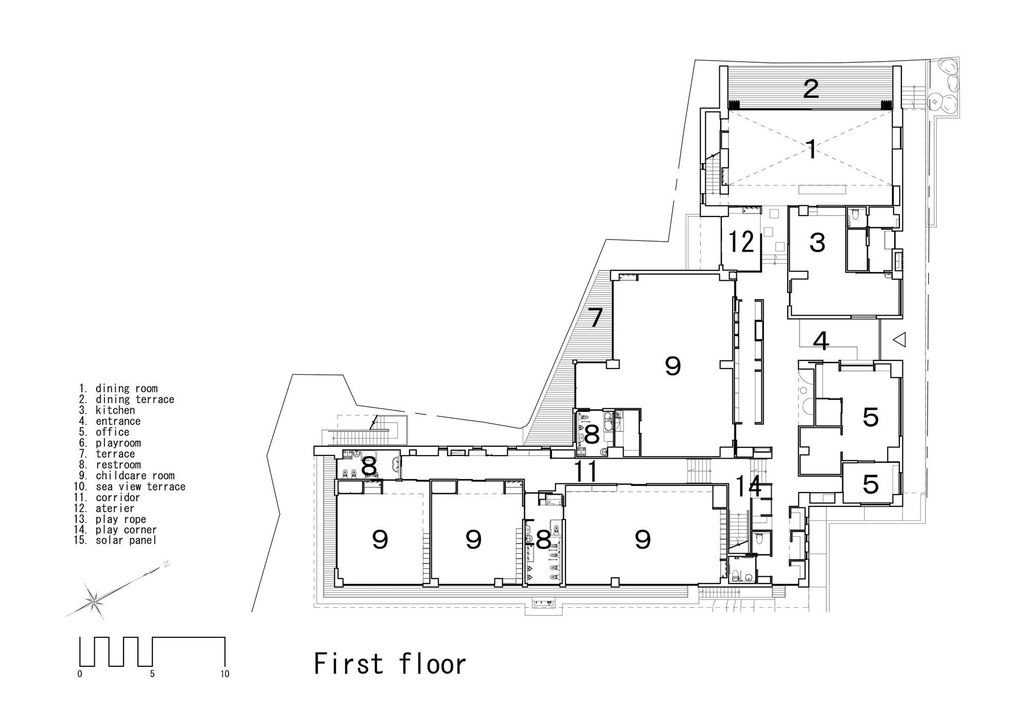 Gallery Of Ob Kindergarten And Nursery Hibinosekkei