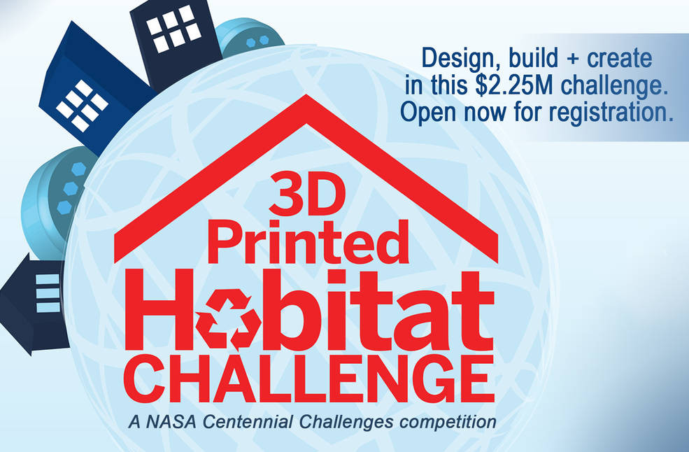 NASA's 3D Printed Habitat Challenge Takes Designers into Deep Space, Courtesy of NASA Centennial Challenges