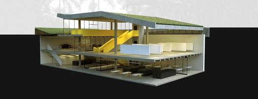 Segundo Lugar / Coletivo Amarelo. Image Cortesia de Portal Projetar.org