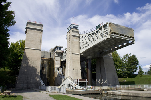 Canada Peterborough Lift Lock National Historic Site. Image via Wikipedia