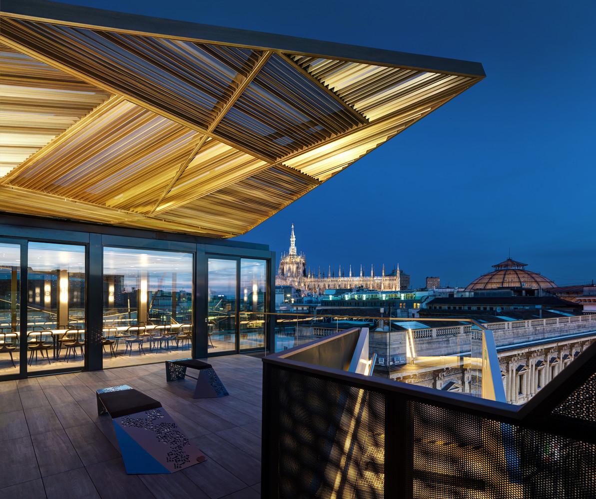 Telhado de Vidro - Restaurante pop-up modular - Itália
