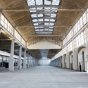 Interior of the incubator in Halle Freyssinet in the 13th arrondissement in Paris. Image © City of Paris