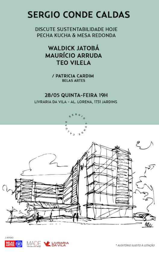 """Palestra """"Sustentabilidade Hoje"""" na Livraria da Vila, via Livraria da Vila"""