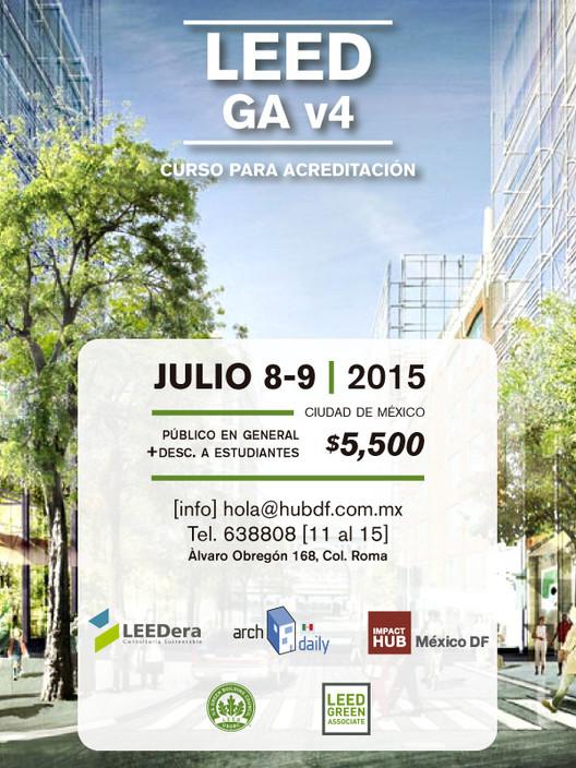 Curso para certificación LEED GA v4 / Ciudad de México [¡Sorteo cerrado!]