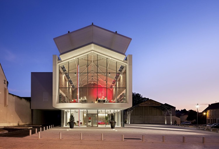 Centro Cultural Auneau / Architecture Patrick Mauger, © Michel Denance