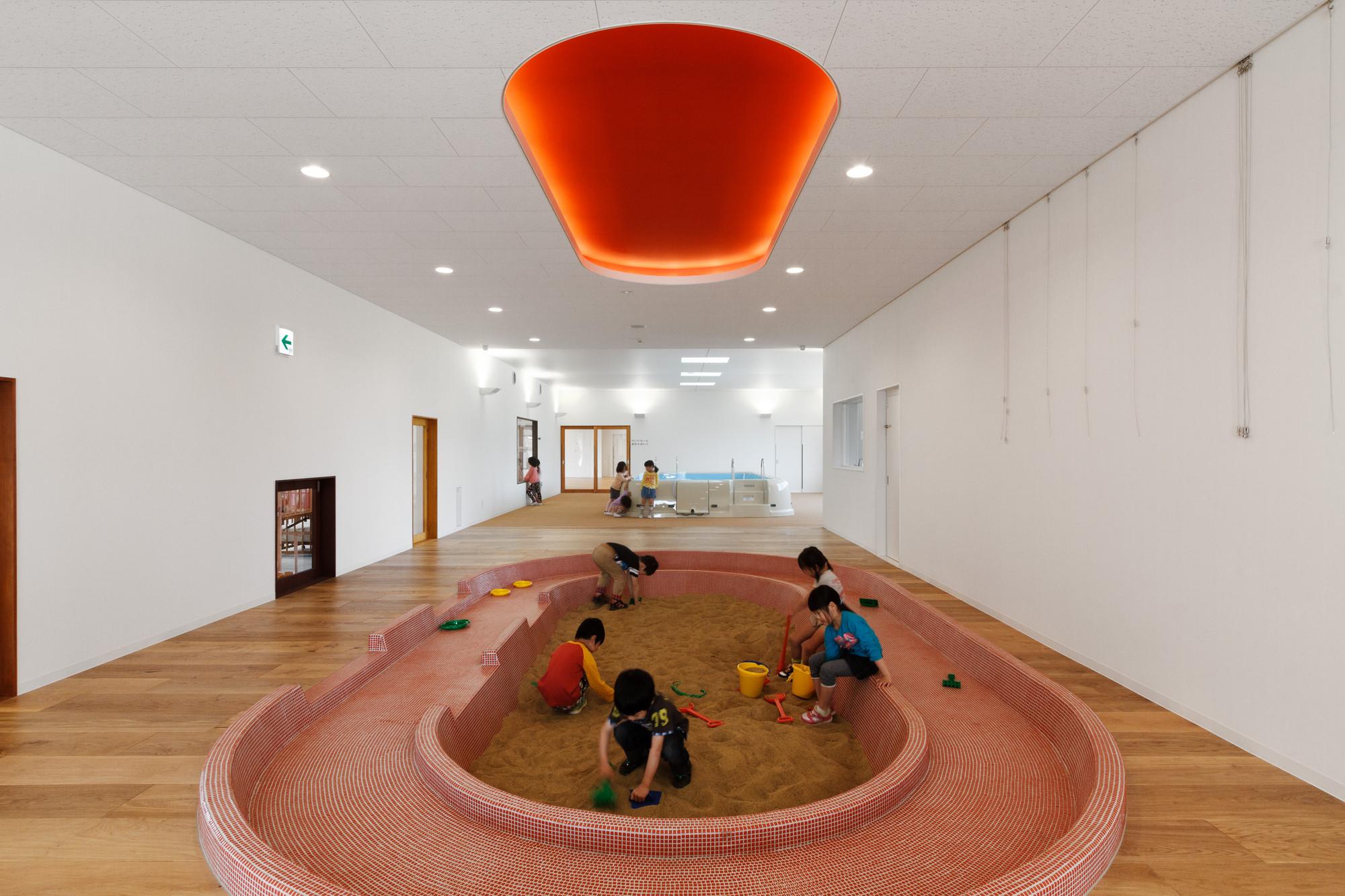 Guardería Infantil SP / HIBINOSEKKEI + Youji no Shiro, © Studio Bauhaus, Ryuji Inoue