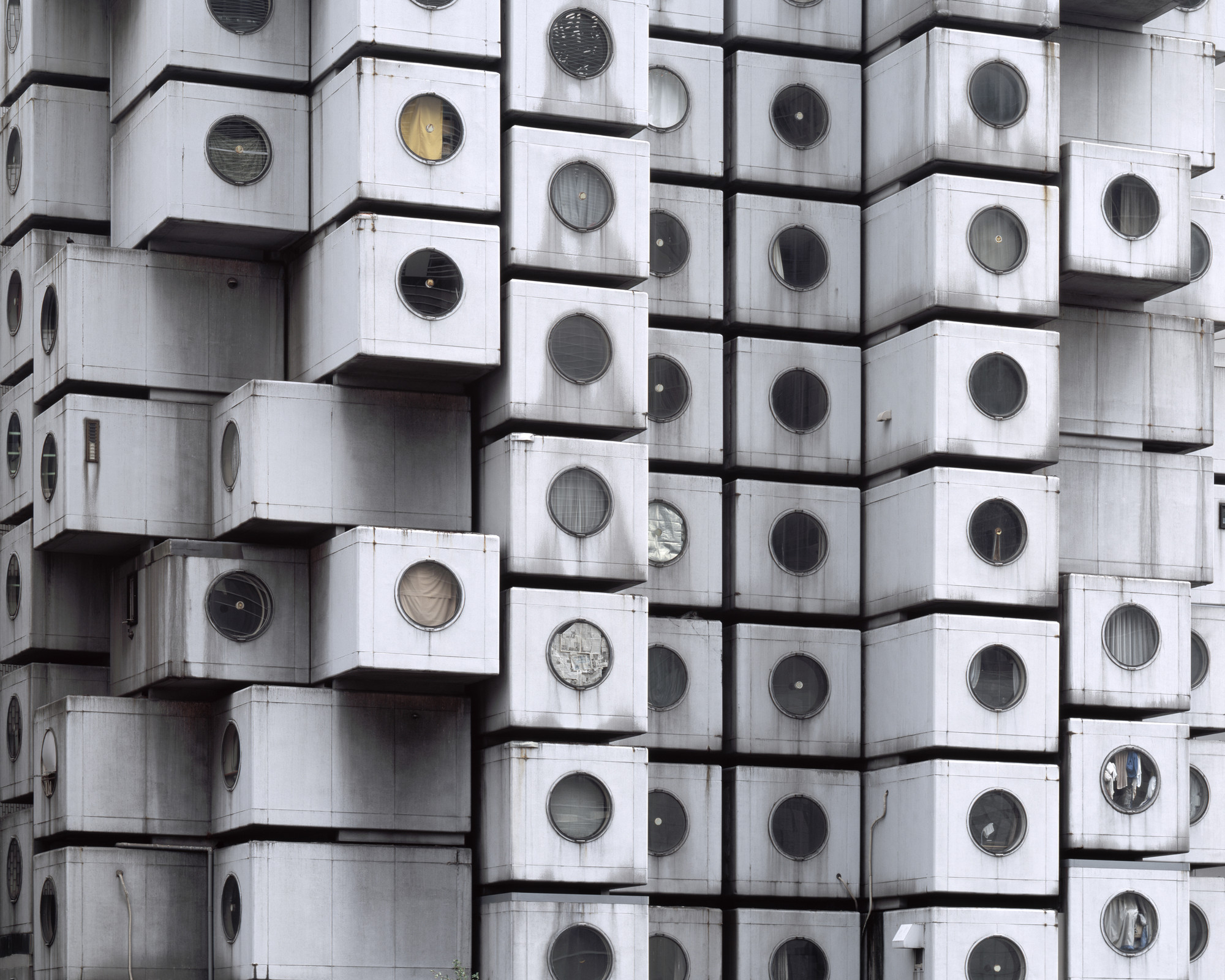 "Graham Foundation Awards Grants for 63 Outstanding Projects, Noritaka Minami, ""Facade I,"" 2011, Tokyo, Japan. Courtesy of the artist. From the 2015 Individual Grant to Noritaka Minami and Ken Yoshida for ""1972–Nakagin Capsule Tower."". Image Courtesy of Graham Foundation"