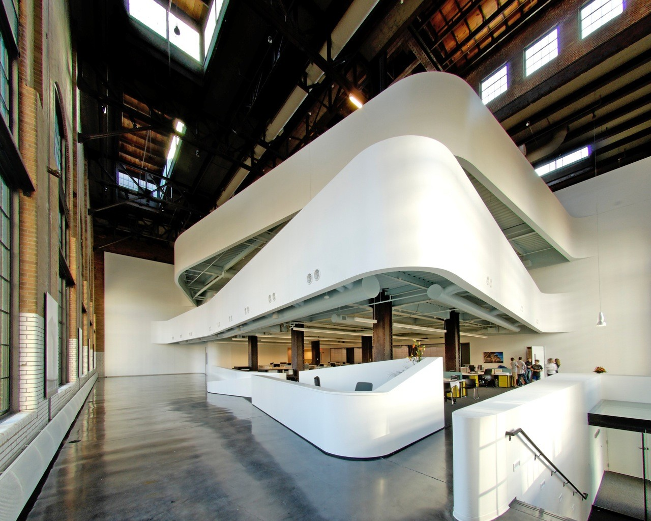 Can We Make New Office Buildings As Cool As Warehouses ArchDaily