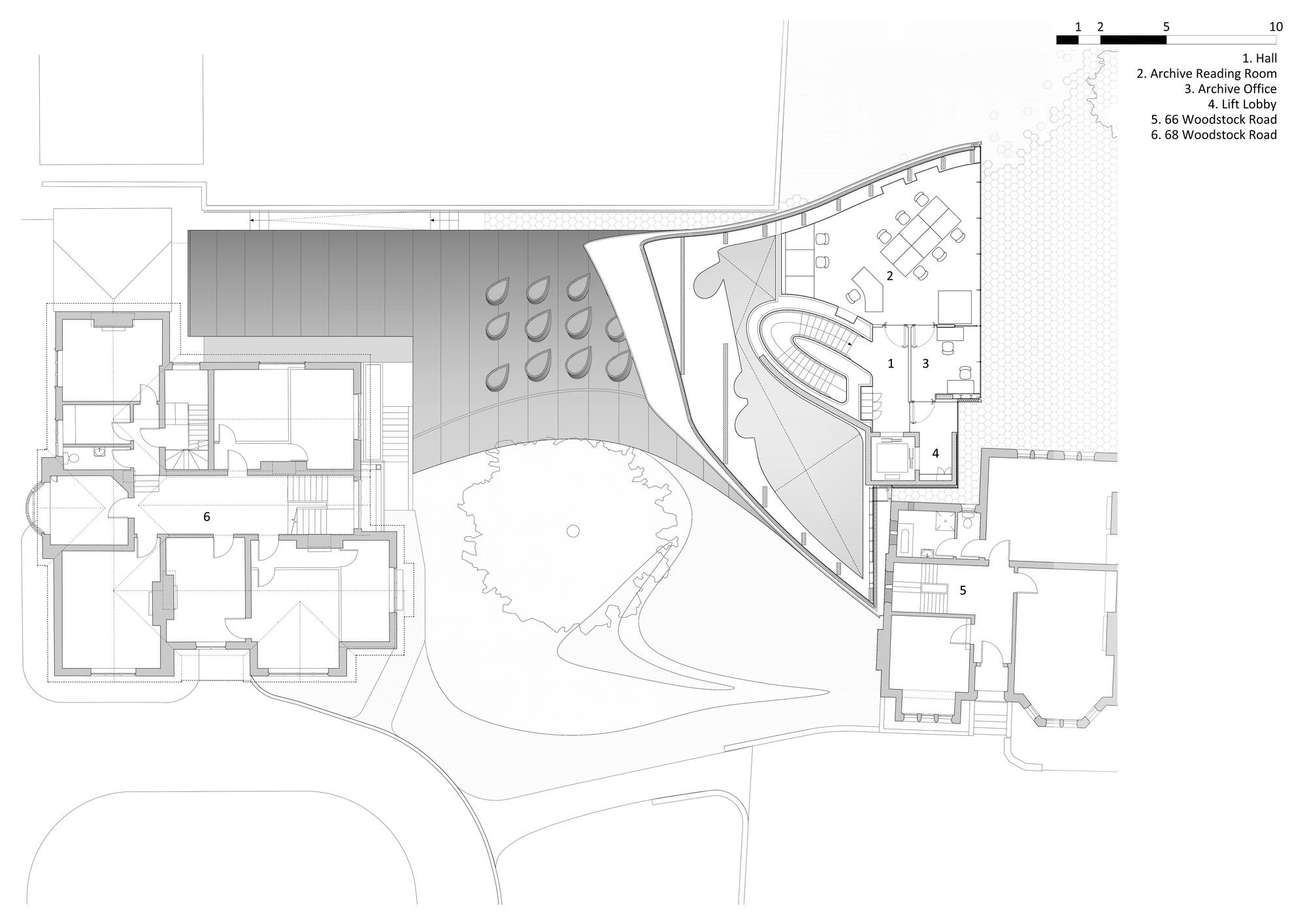 galer a de edificio investcorp zaha hadid architects   41