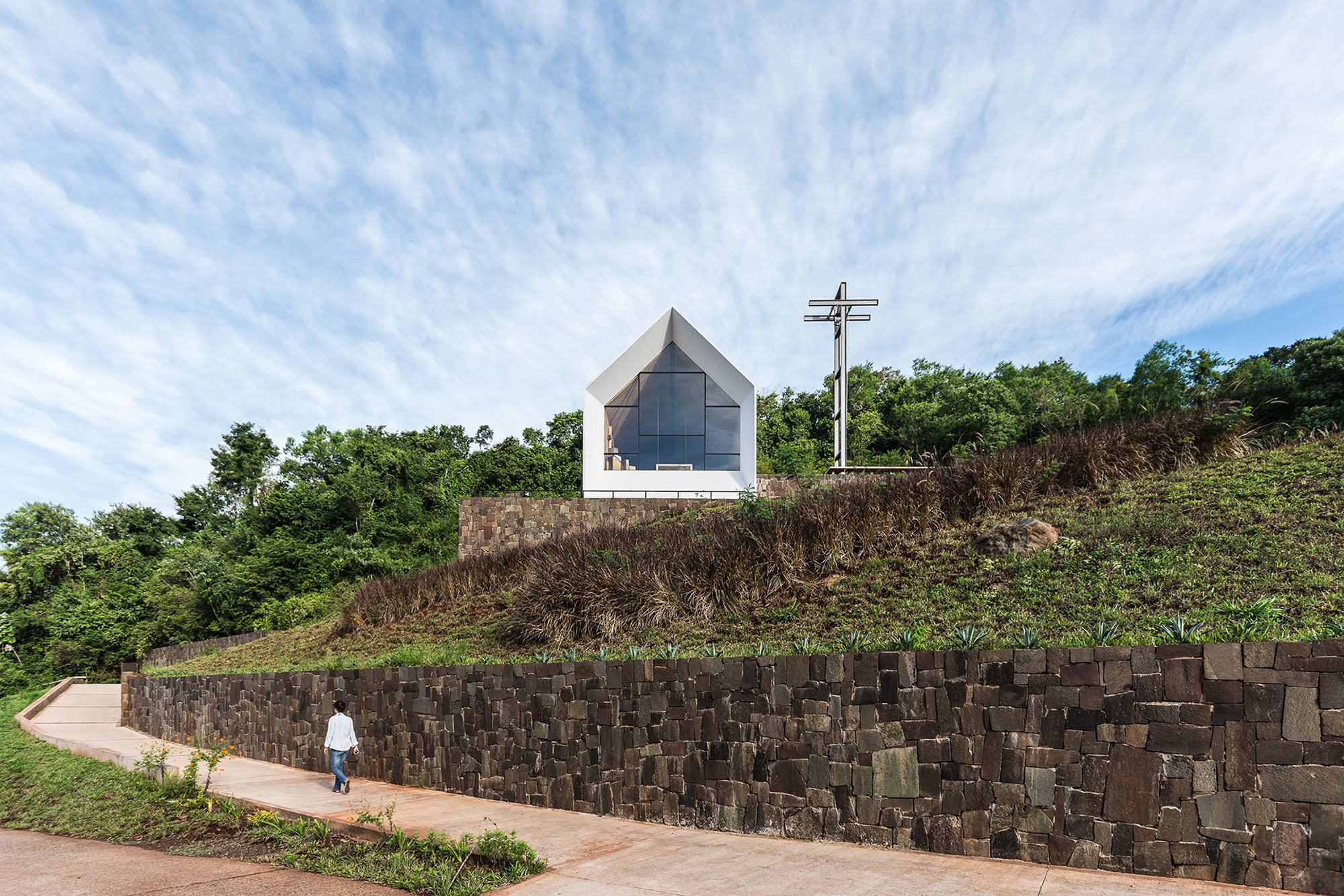 Saint Anne Chapel / Estudio Cella, © Ramiro Sosa