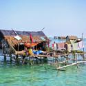 Temporary construction in Southeast Asian ocean. Image © asnida via Shutterstock