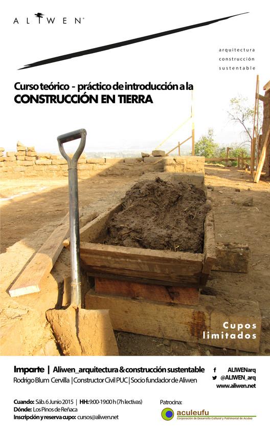 """Curso Taller """"Introducción a la Construcción en Tierra"""" en Reñaca / ¡Sorteamos un cupo! [cerrado]"""