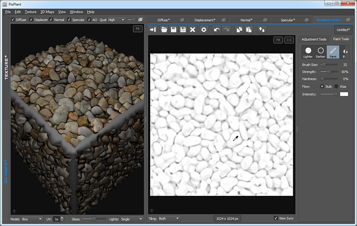 PixPlant 3: Create Custom 3D Texture Maps for Rendering , Courtesy of PixPlant