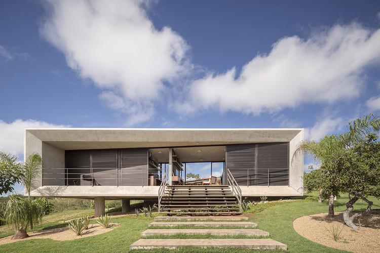 Casa Solar da Serra / 3.4 Arquitetura, © Joana França