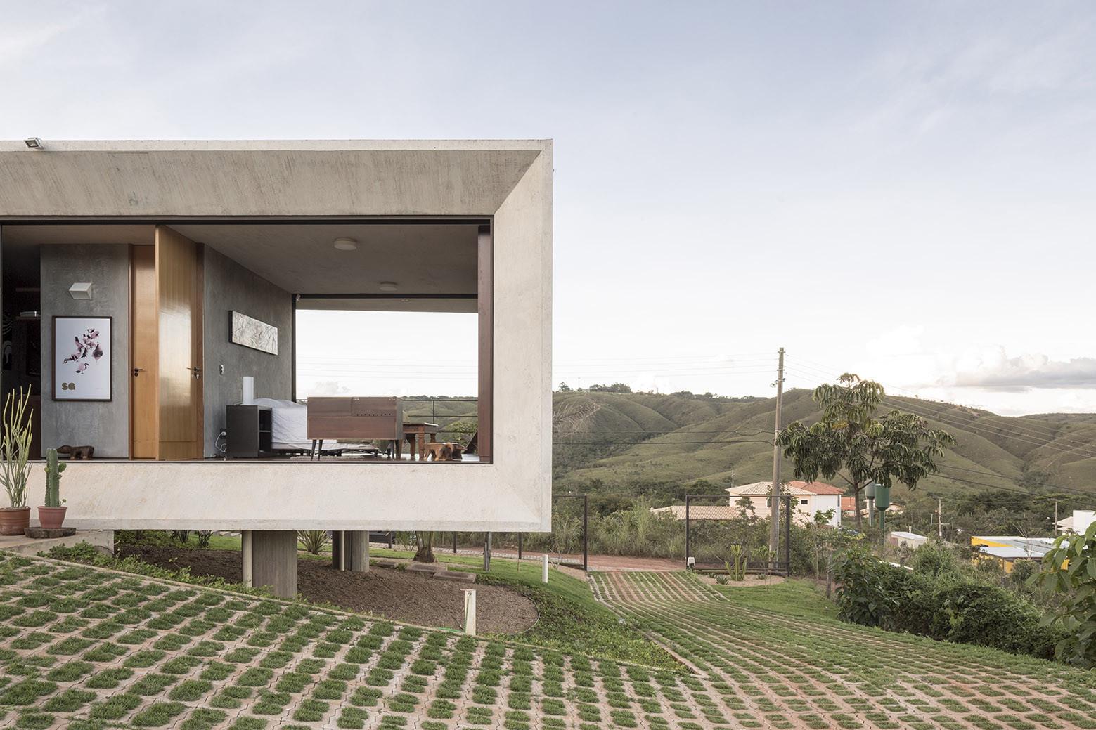 Gallery of solar da serra house 3 4 arquitetura 2 for 3 4 house