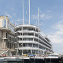 Yacht Club de Monaco. Image Courtesy of Nigel Young / Foster + Partners