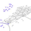 Esquema de acessos. Image Cortesia de Atelier Rua + Rede Arquitetos
