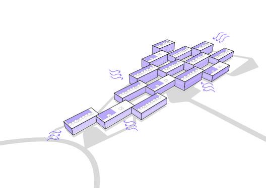Esquema de sustentabilidade. Image Cortesia de Atelier Rua + Rede Arquitetos