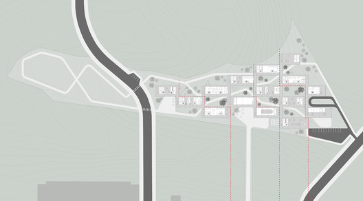Planta geral. Image Cortesia de Atelier Rua + Rede Arquitetos