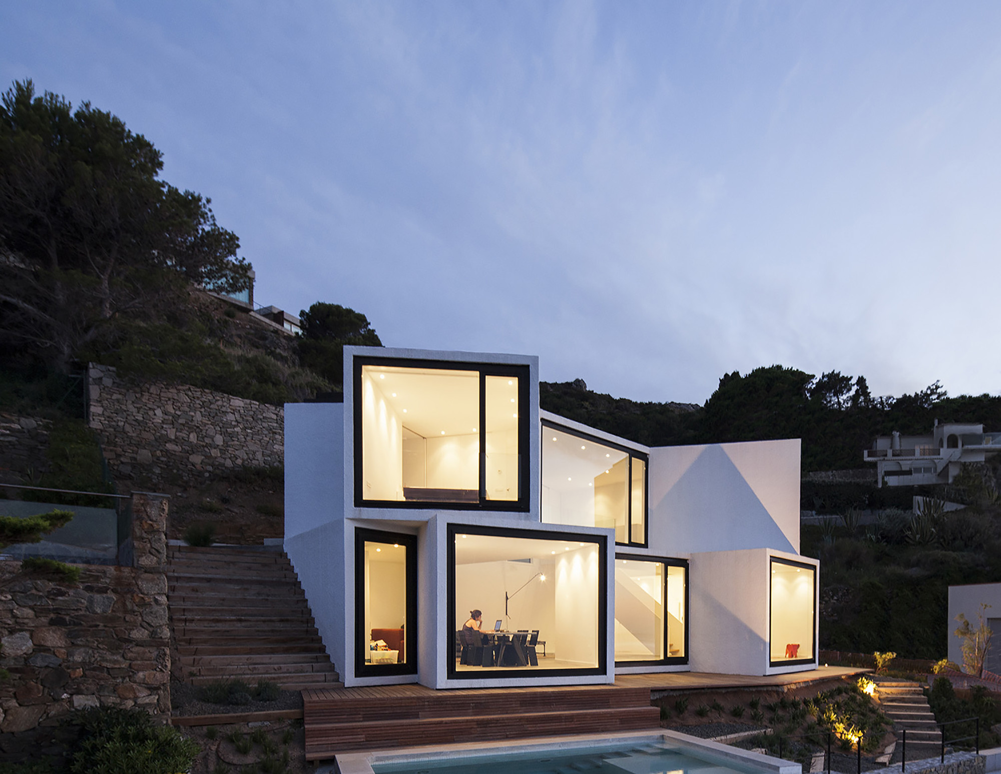 Sunflower House Cadaval Sol Morales Archdaily