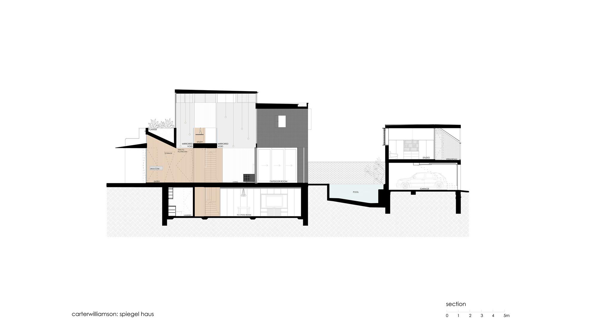 spiegel haus / carterwilliamson architects   archdaily, Hause deko