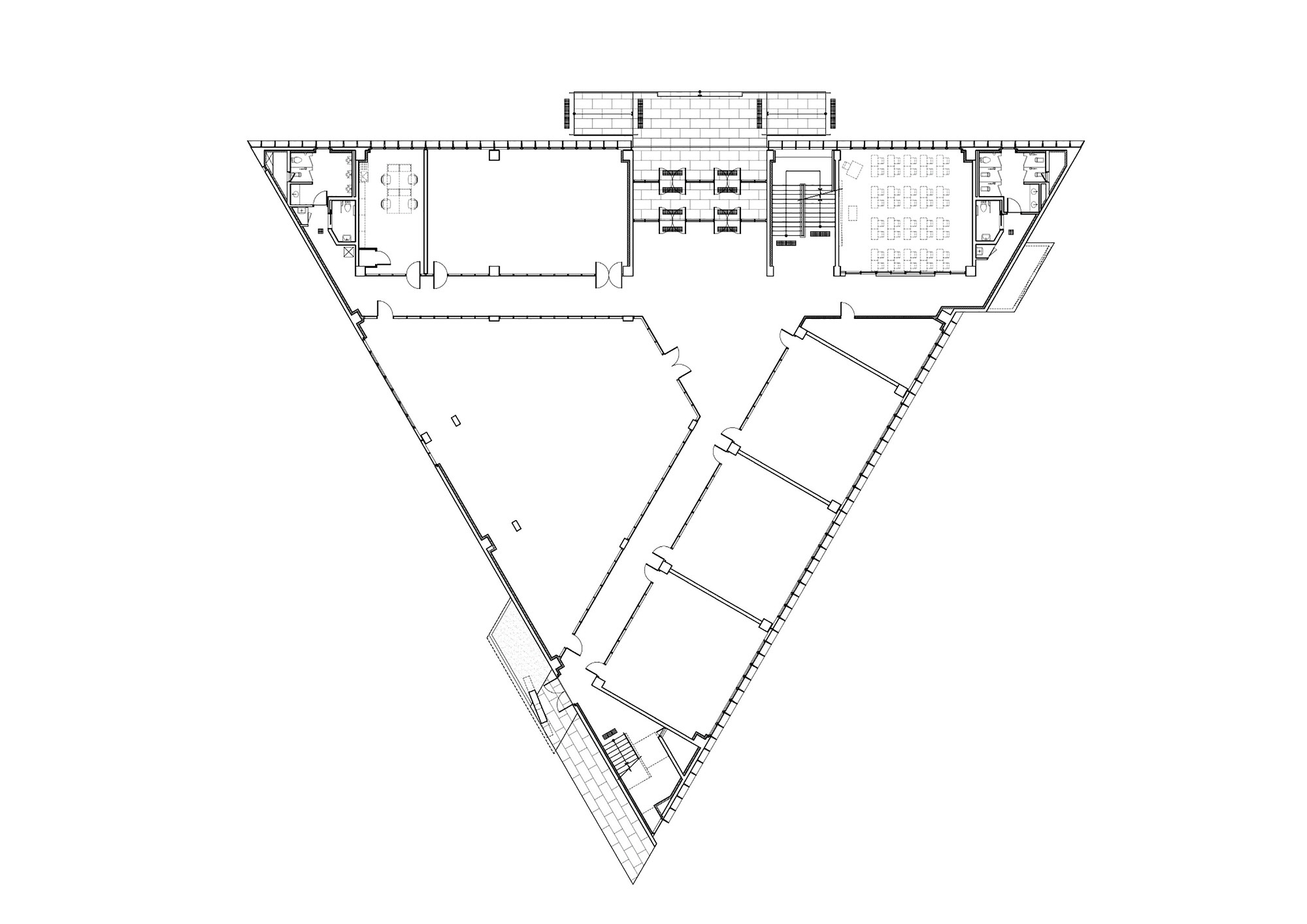 Gallery Of Dh Triangle School Nameless Architecture 27