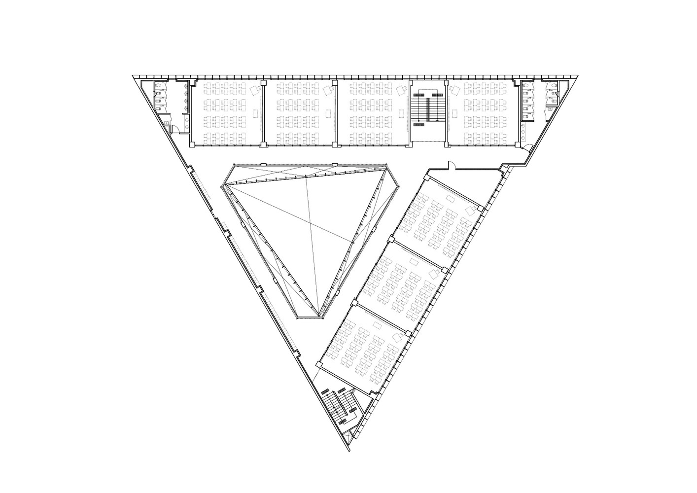 gallery of dh triangle nameless architecture 29