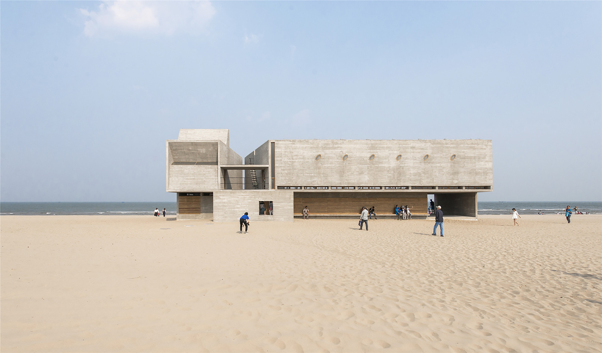 Seashore Library / Vector Architects - ArchDaily