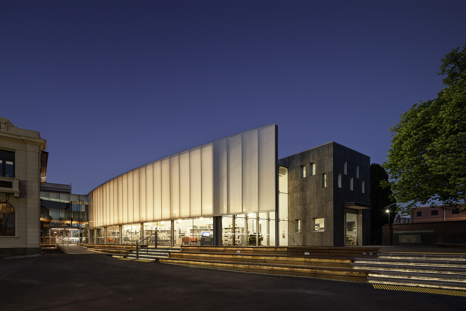 Williamstown Library Sally Draper Architects Mitsuori
