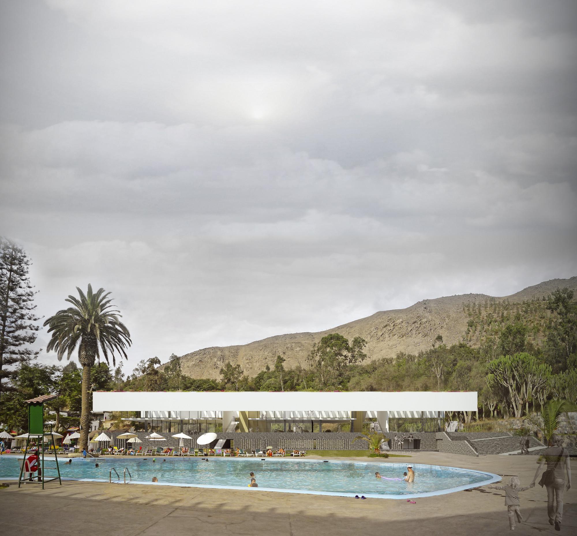 Nómena Arquitectos, primer lugar en concurso de nuevo edificio del Rinconada Country Club / Perú, Cortesia de Nómena Arquitectos