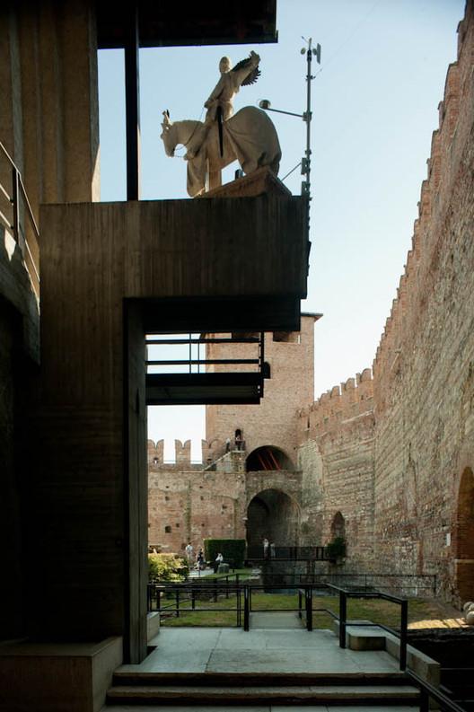 Em foco: Carlo Scarpa, Museu Castelvecchio. Imagem © Flickr user Leon Licença CC BY 2.0