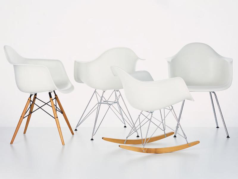 Plástico no Design, Cadeiras RAR, LAR e DAR. Charles e Ray Eames.. Image © Flickr ® Veerle Pieters